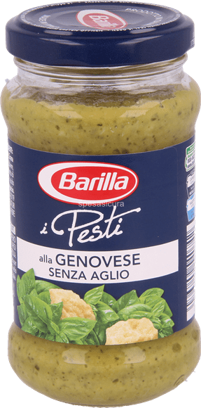 barilla pesto genovese senz 39 aglio mammapack. Black Bedroom Furniture Sets. Home Design Ideas